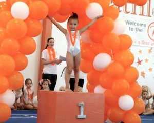 gymnastics welcome letter